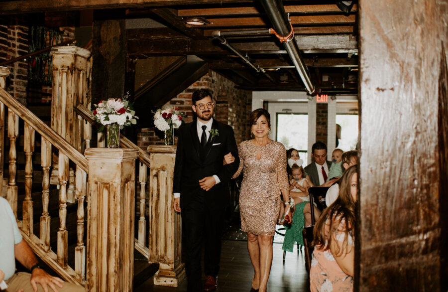 Wedding ceremony photography: Romantic Nashville Wedding at The Bedford featured on Nashville Bride Guide