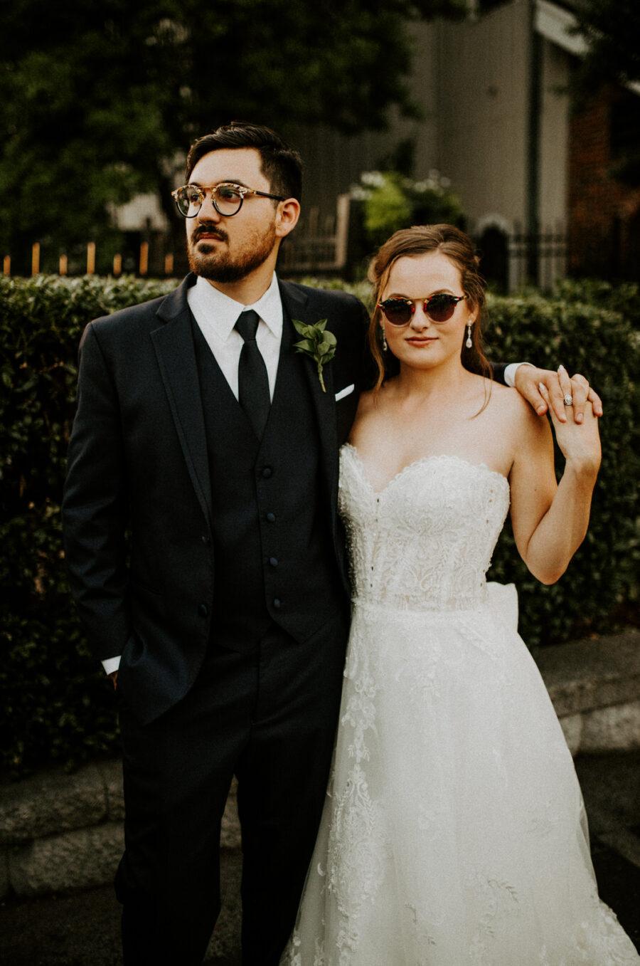 Modern wedding photo: Romantic Nashville Wedding at The Bedford featured on Nashville Bride Guide