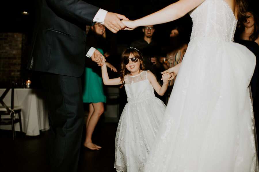 Wedding dancing photography: Romantic Nashville Wedding at The Bedford featured on Nashville Bride Guide