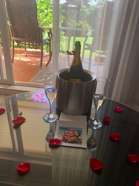 Room amenities: St. Lucia Honeymoon from 2 Travel Anywhere featured on Nashville Bride Guide