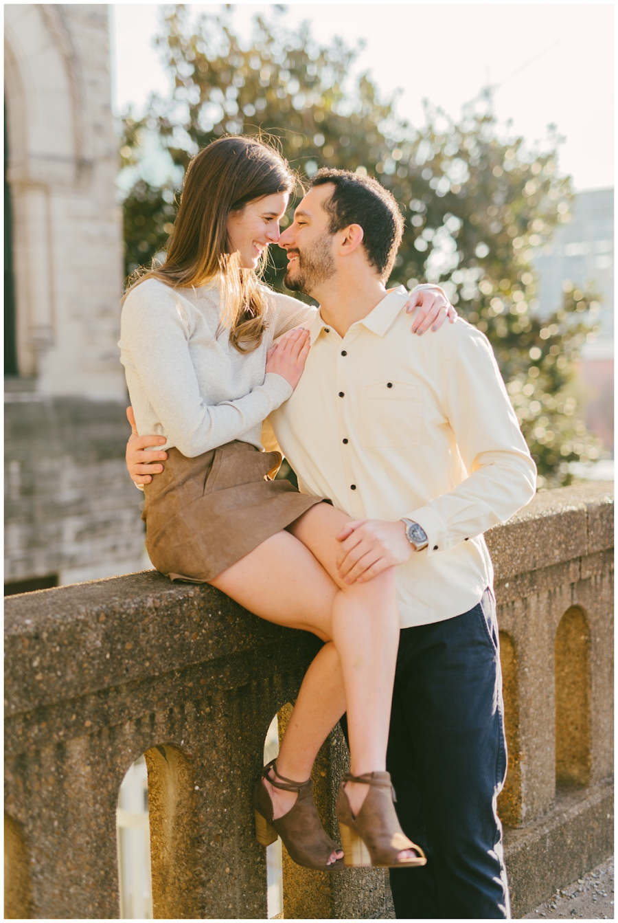 The Best Nashville Engagement Session Locations from Kéra Photography featured on Nashville Bride Guide
