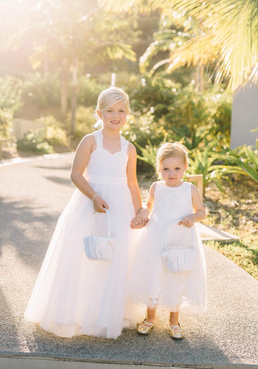 Flower girl dresses: Intimate Caribbean Wedding by Details Nashville