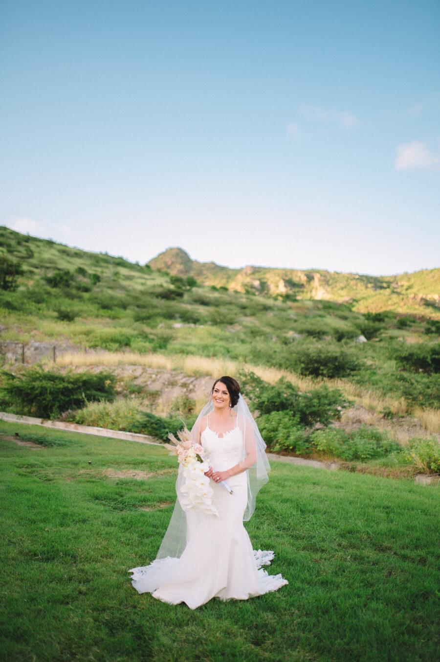 Bridal portrait: Intimate Caribbean Wedding by Details Nashville