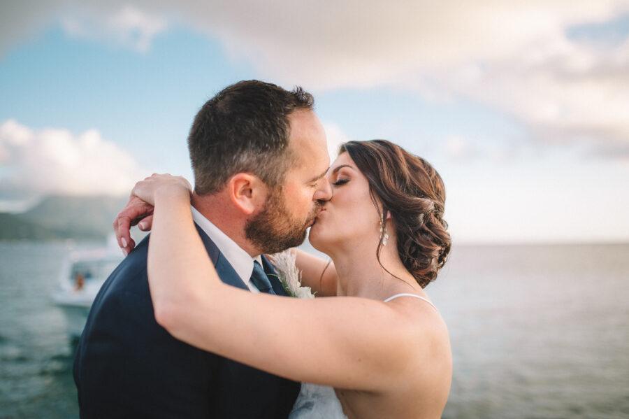 Beach wedding portrait: Intimate Caribbean Wedding by Details Nashville