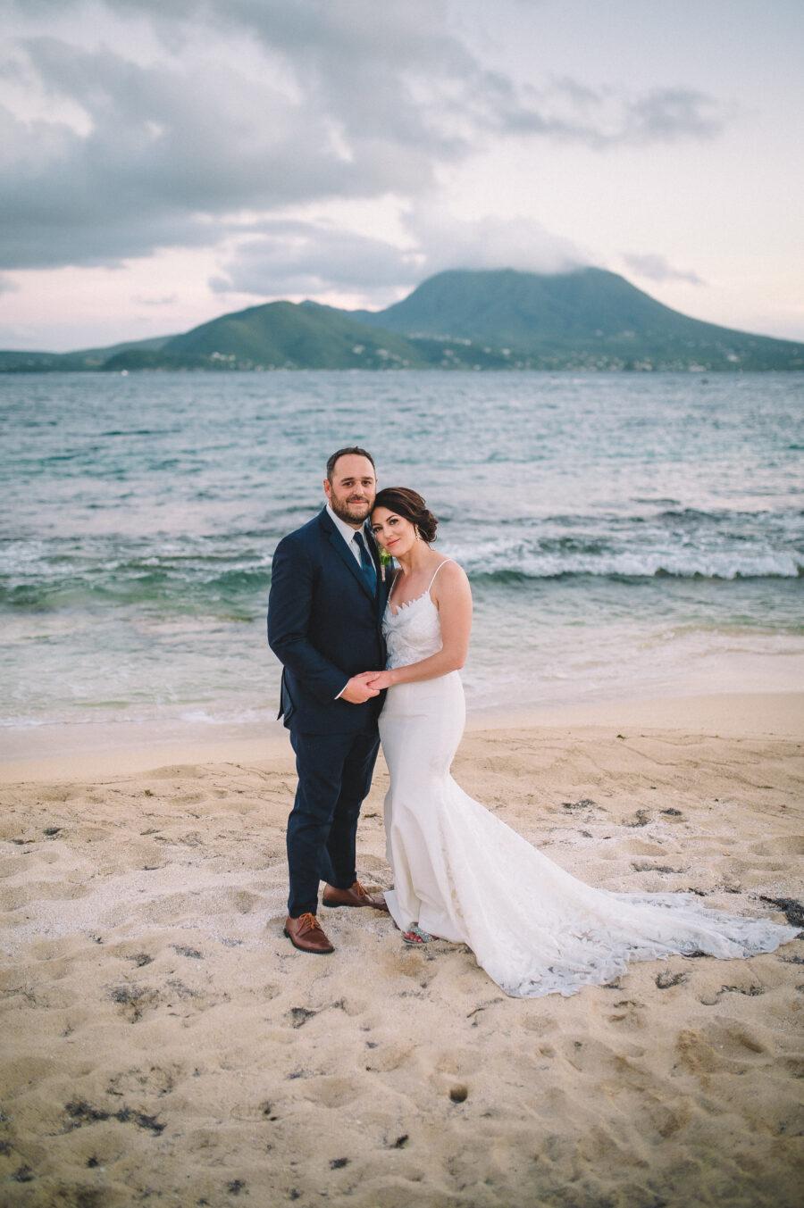 Caribbean Sea wedding photo: Intimate Caribbean Wedding by Details Nashville