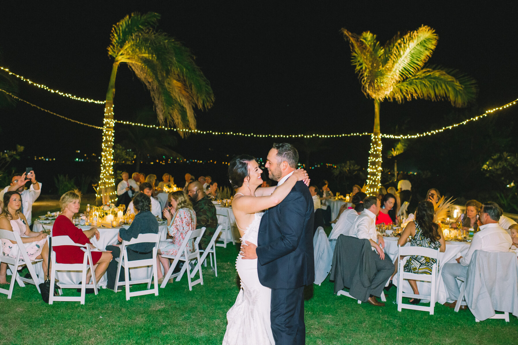 Wedding first dance: Intimate Caribbean Wedding by Details Nashville featured on Nashville Bride Guide