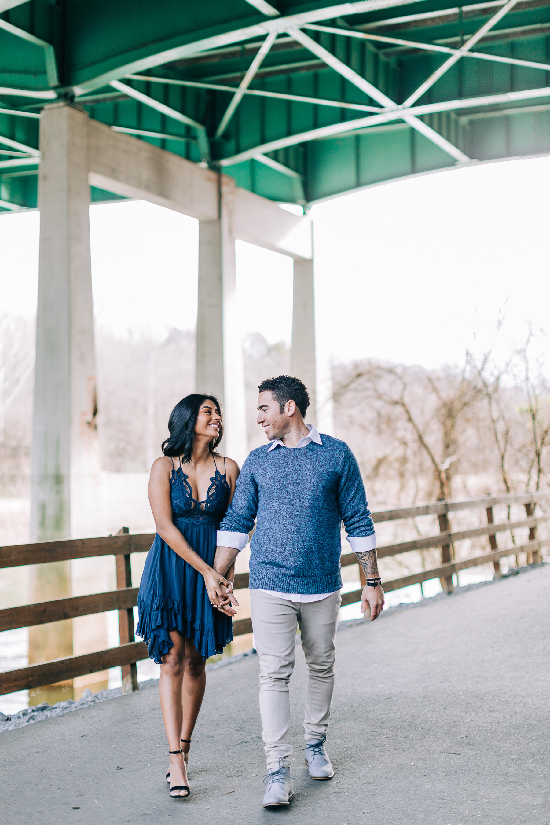 Dreamy Lakeside Engagement at Percy Priest Lake featured on Nashville Bride Guide