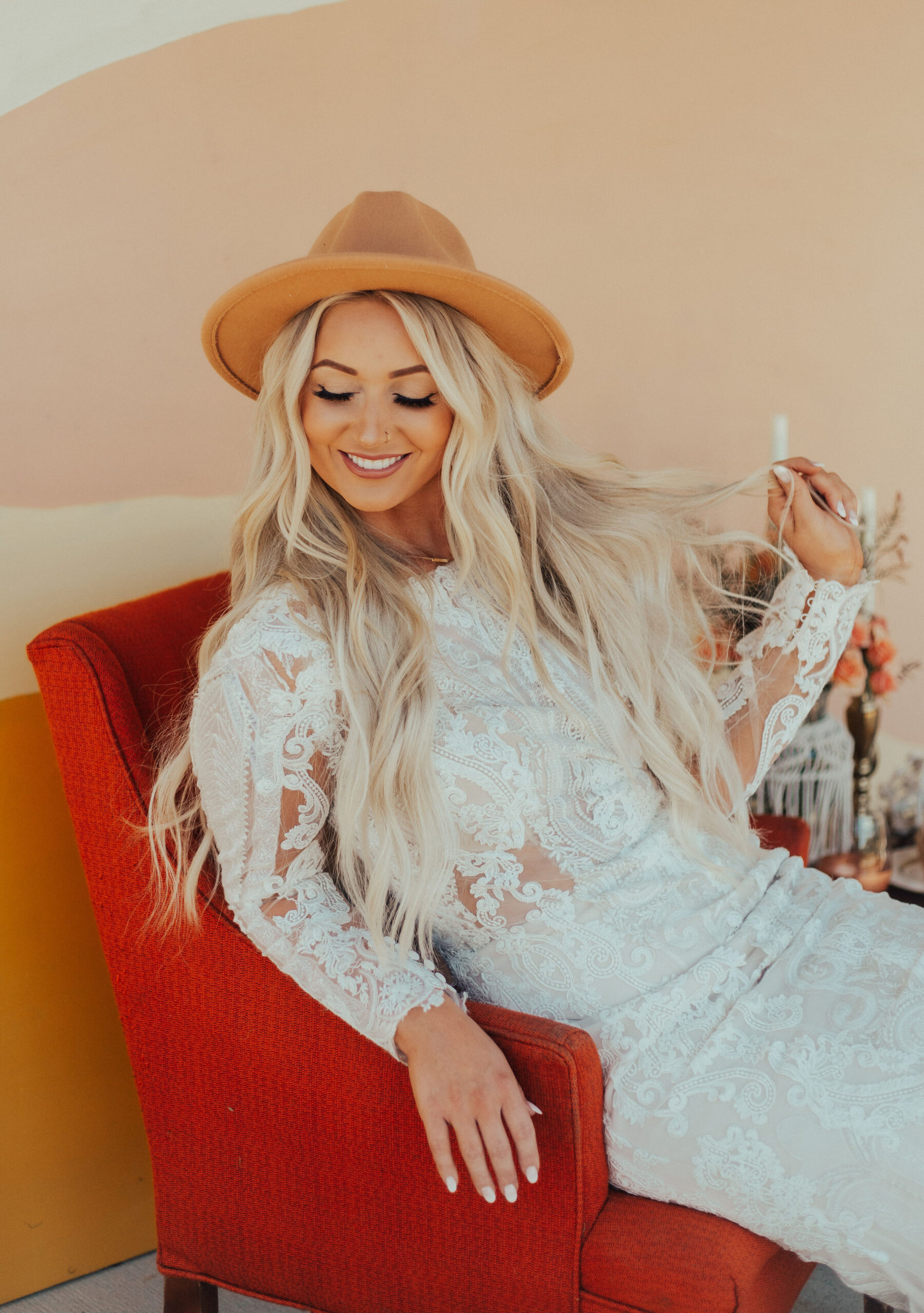 Boho bride: Bright Bohemian Photo Shoot from Ina J Designs