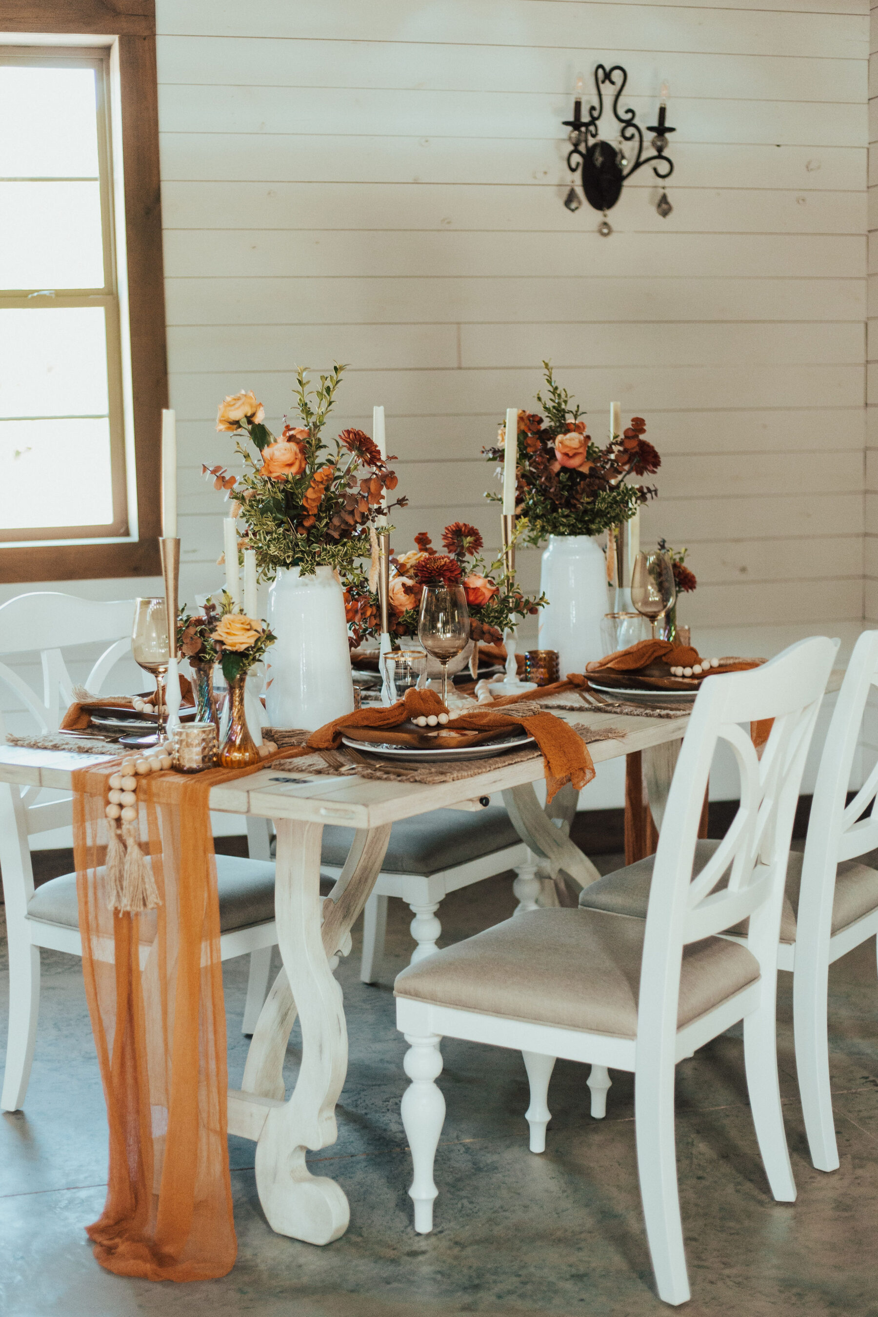 Wedding table decor inspiration: Bright Bohemian Photo Shoot from Ina J Designs