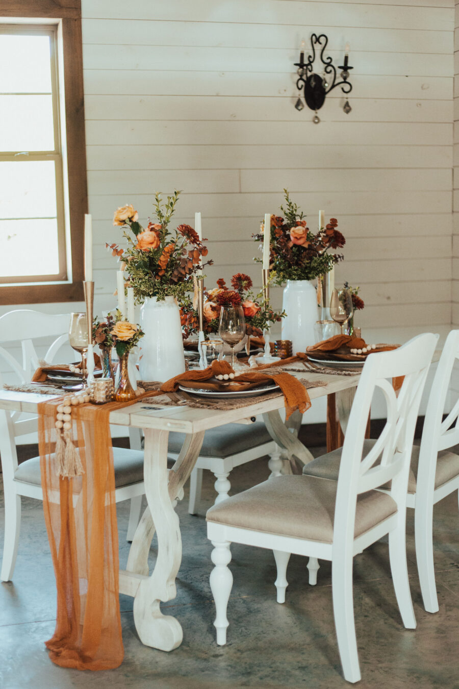 Wedding table decor inspiration: Bright Bohemian Photo Shoot from Ina J Designs