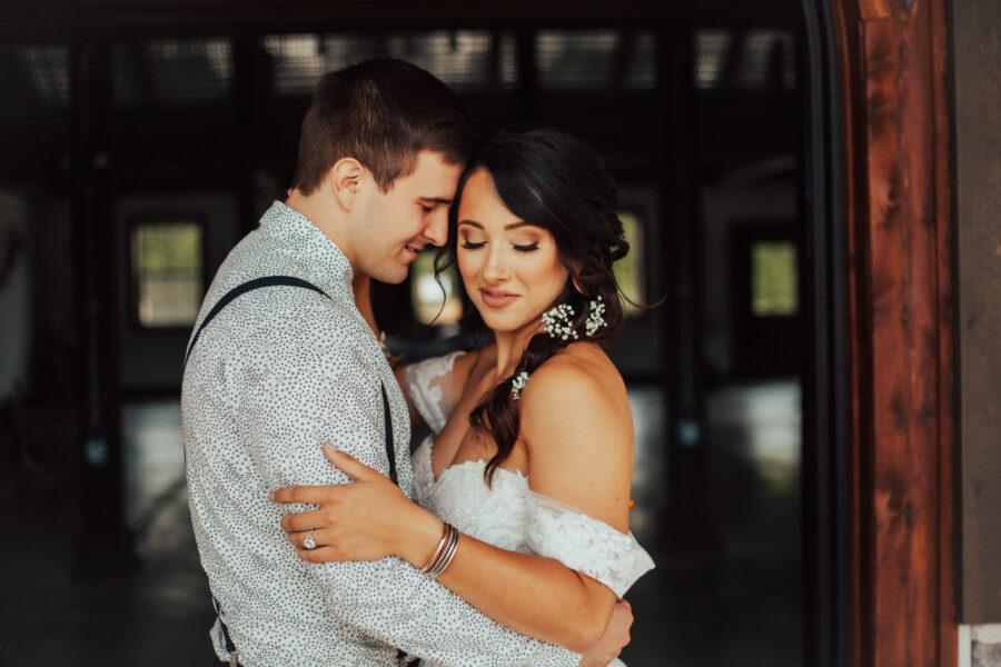 Bridal hair and makeup: Bright Bohemian Photo Shoot from Ina J Designs