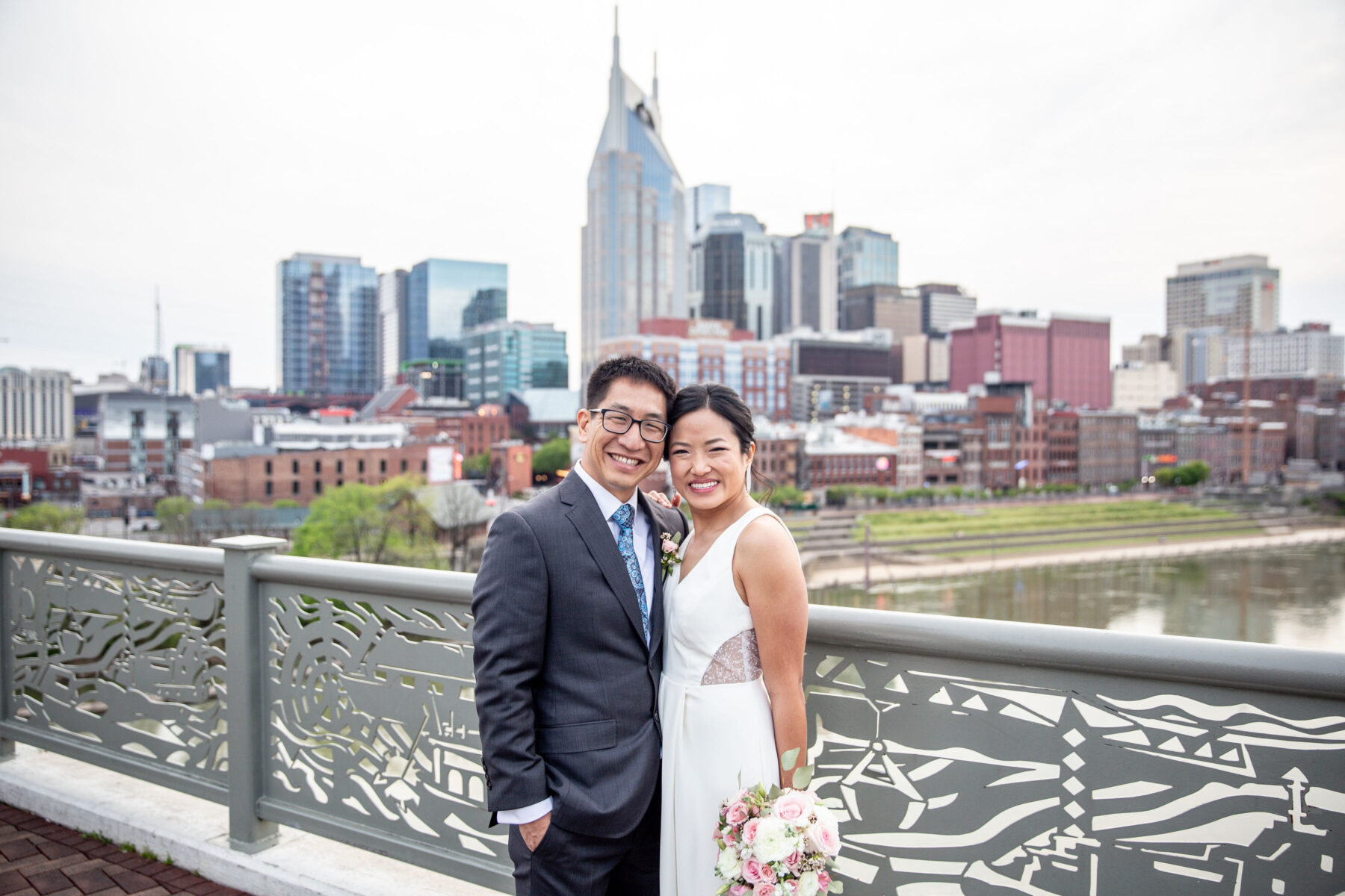 Mindy & Li's Nashville Wedding Story captured by Sara Grace Photography featured on Nashville Bride Guide