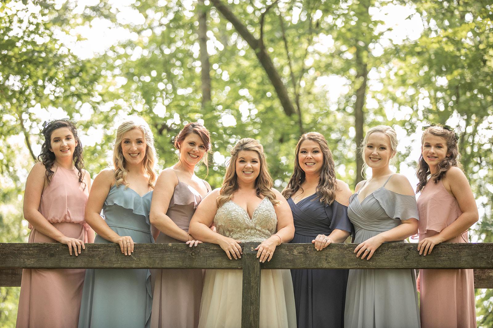 Charming, Rustic Wedding at the Cedars of Lebanon State Park featured on Nashville Bride Guide