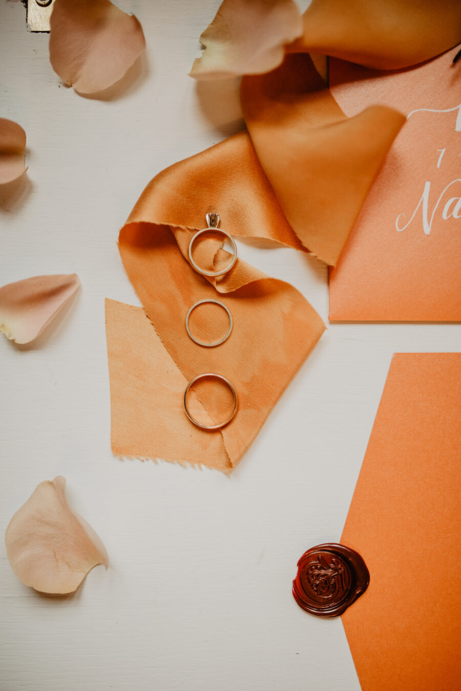Wedding ring and engagement ring: Stunning Fall Styled Shoot at Promise Manor featured on Nashville Bride Guide