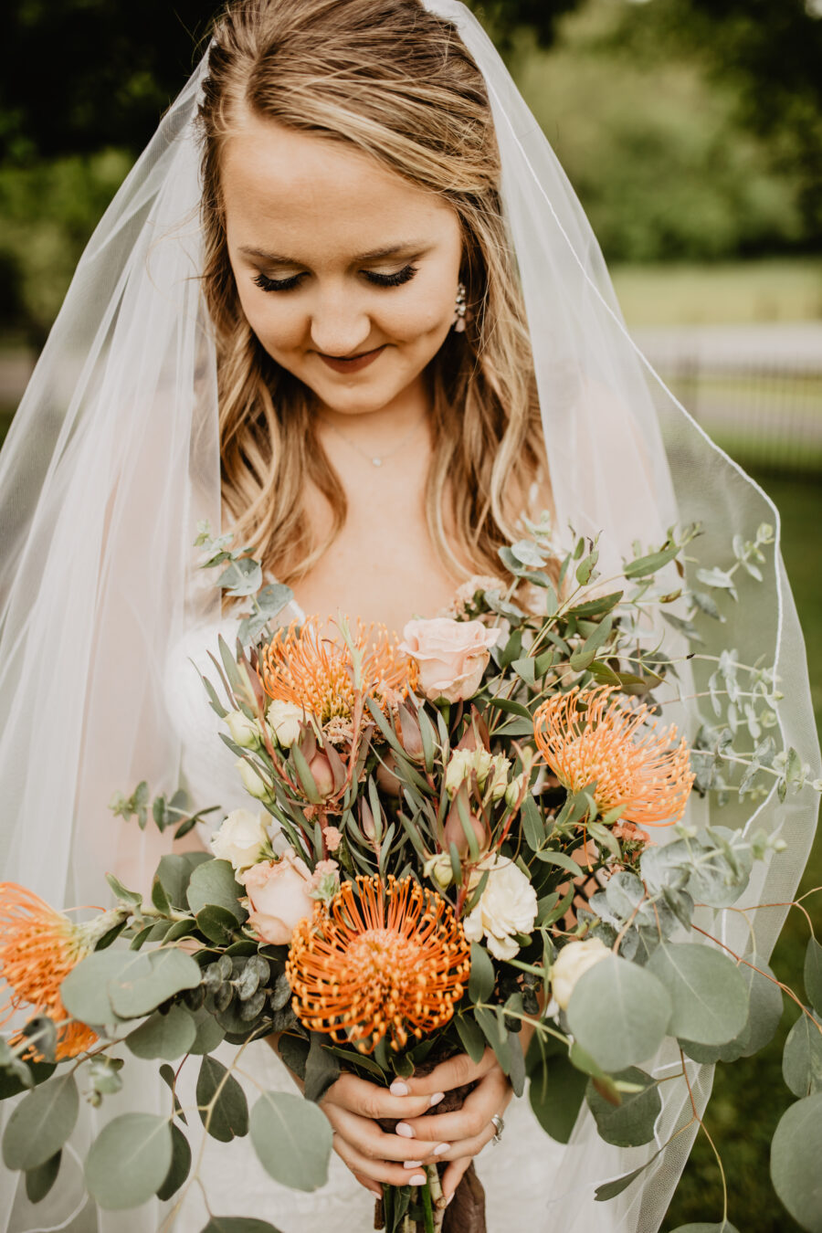 Bridal portrait: Stunning Fall Styled Shoot at Promise Manor featured on Nashville Bride Guide