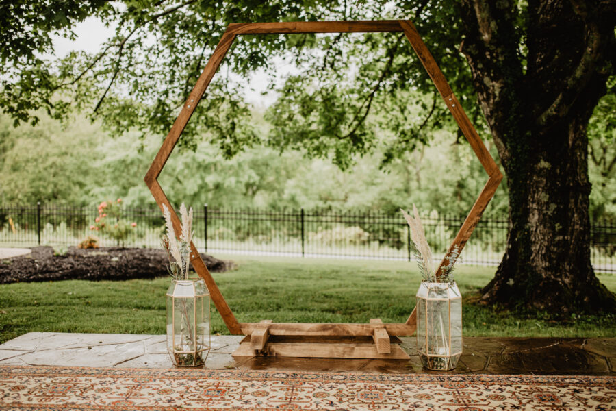Wedding ceremony decor: Stunning Fall Styled Shoot at Promise Manor featured on Nashville Bride Guide