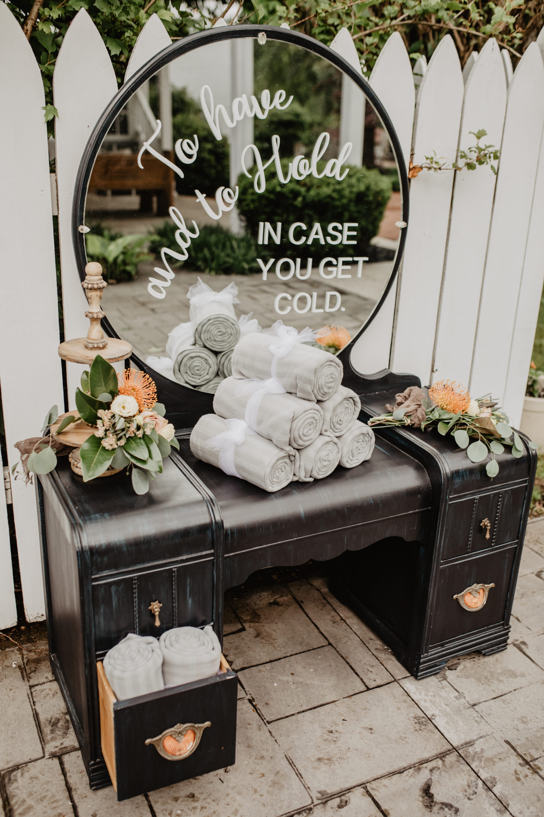 Wedding ceremony ideas: Stunning Fall Styled Shoot at Promise Manor featured on Nashville Bride Guide
