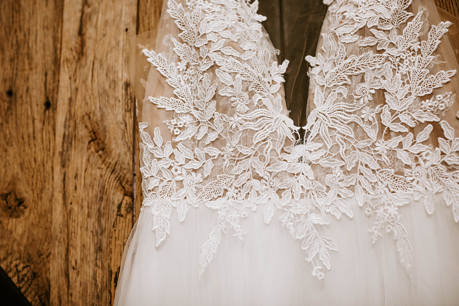Wedding dress detail: Surprise Vow Renewal by Tara Winstead Photography featured on Nashville Bride Guide