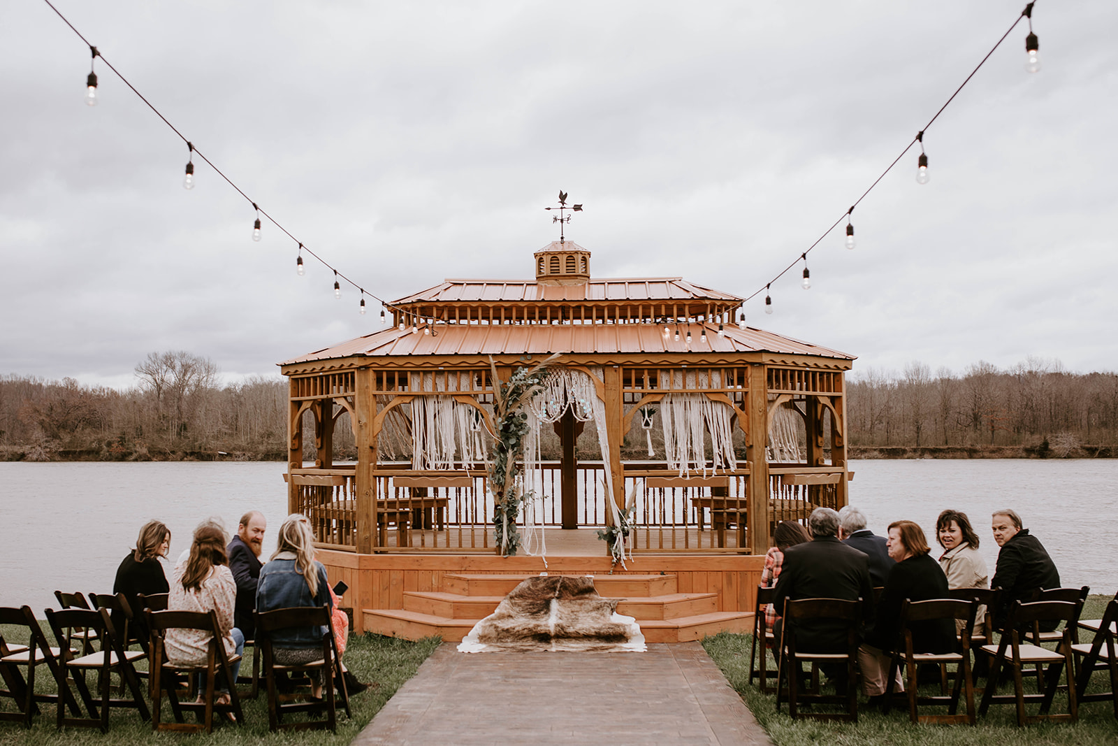 Outdoor wedding ceremony inspiration: Surprise Vow Renewal by Tara Winstead Photography featured on Nashville Bride Guide