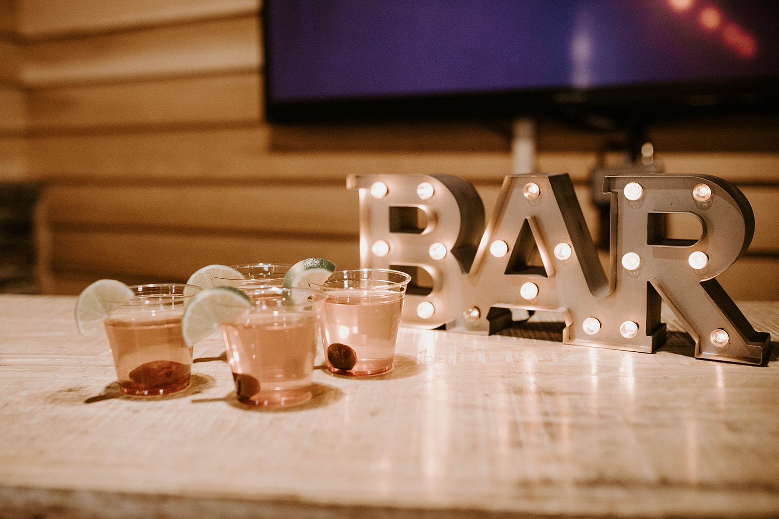 Wedding bar design: Surprise Vow Renewal by Tara Winstead Photography featured on Nashville Bride Guide