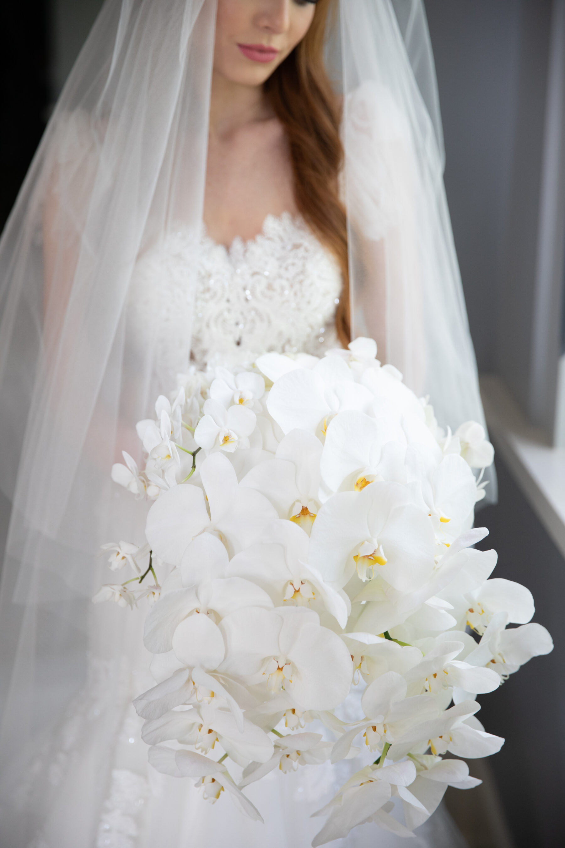 All white wedding bouquet: Floral Filled Luxurious Wedding by LMA Designs featured on Nashville Bride Guide