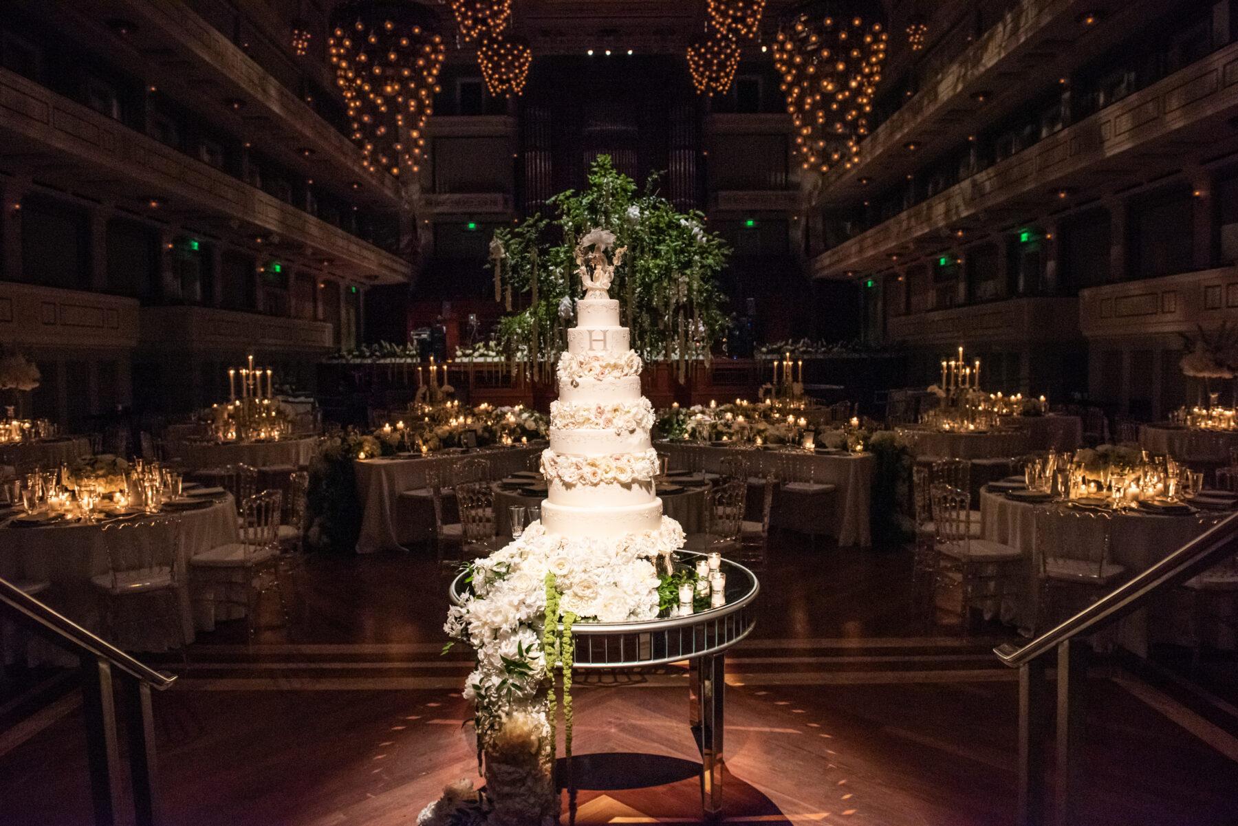 Schermerhorn Symphony Wedding: Floral Filled Luxurious Wedding by LMA Designs featured on Nashville Bride Guide