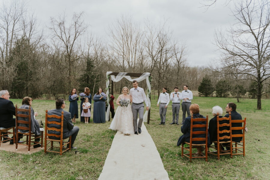 Intimate Backyard Wedding from Risen Vintage featured on Nashville Bride Guide