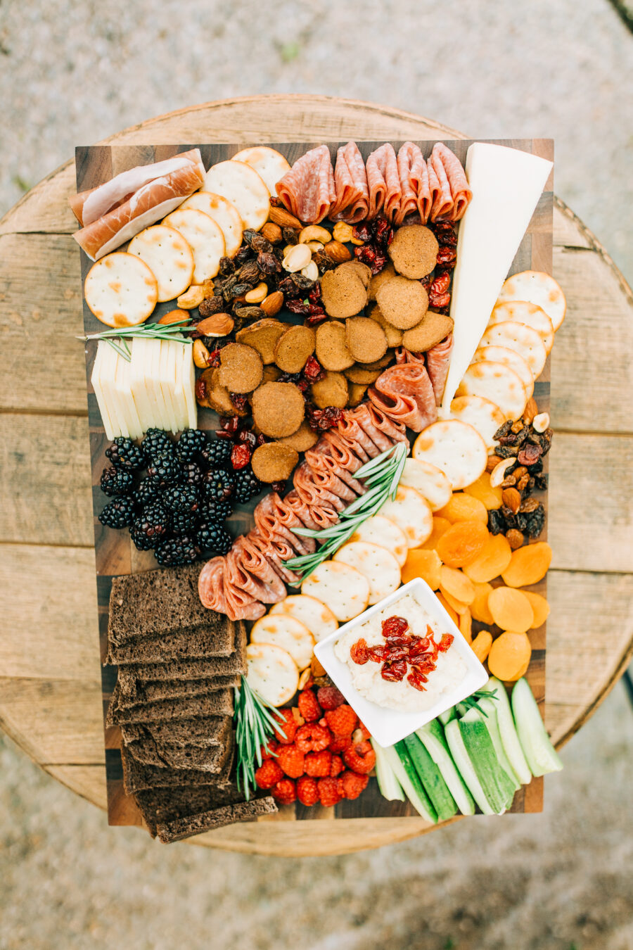 Wedding food display: Stunning Fall Styled Shoot at Promise Manor featured on Nashville Bride Guide