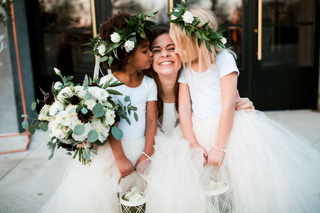 Flower girl wedding photo: John Myers Photography and Videography featured on Nashville Bride Guide