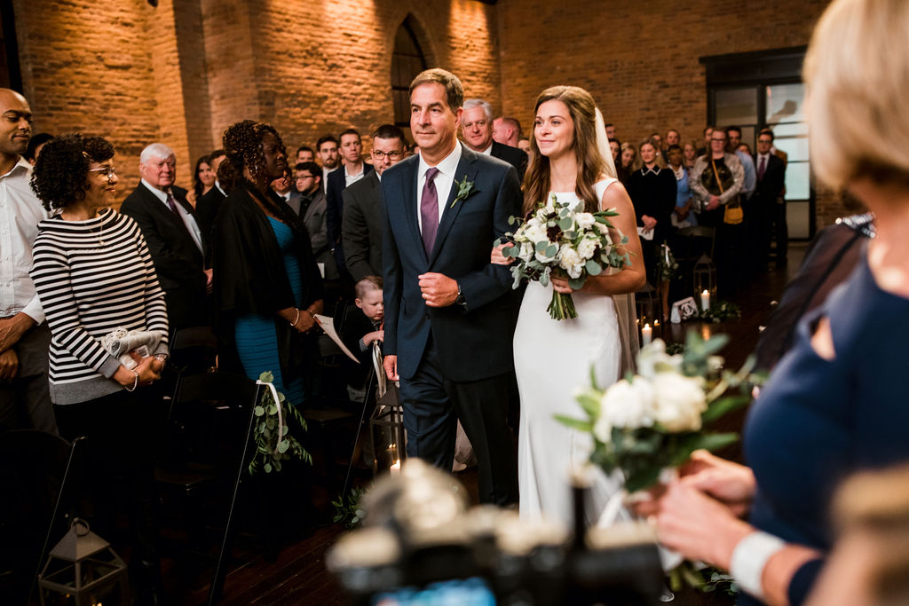 Clementine Wedding Ceremony: John Myers Photography and Videography featured on Nashville Bride Guide