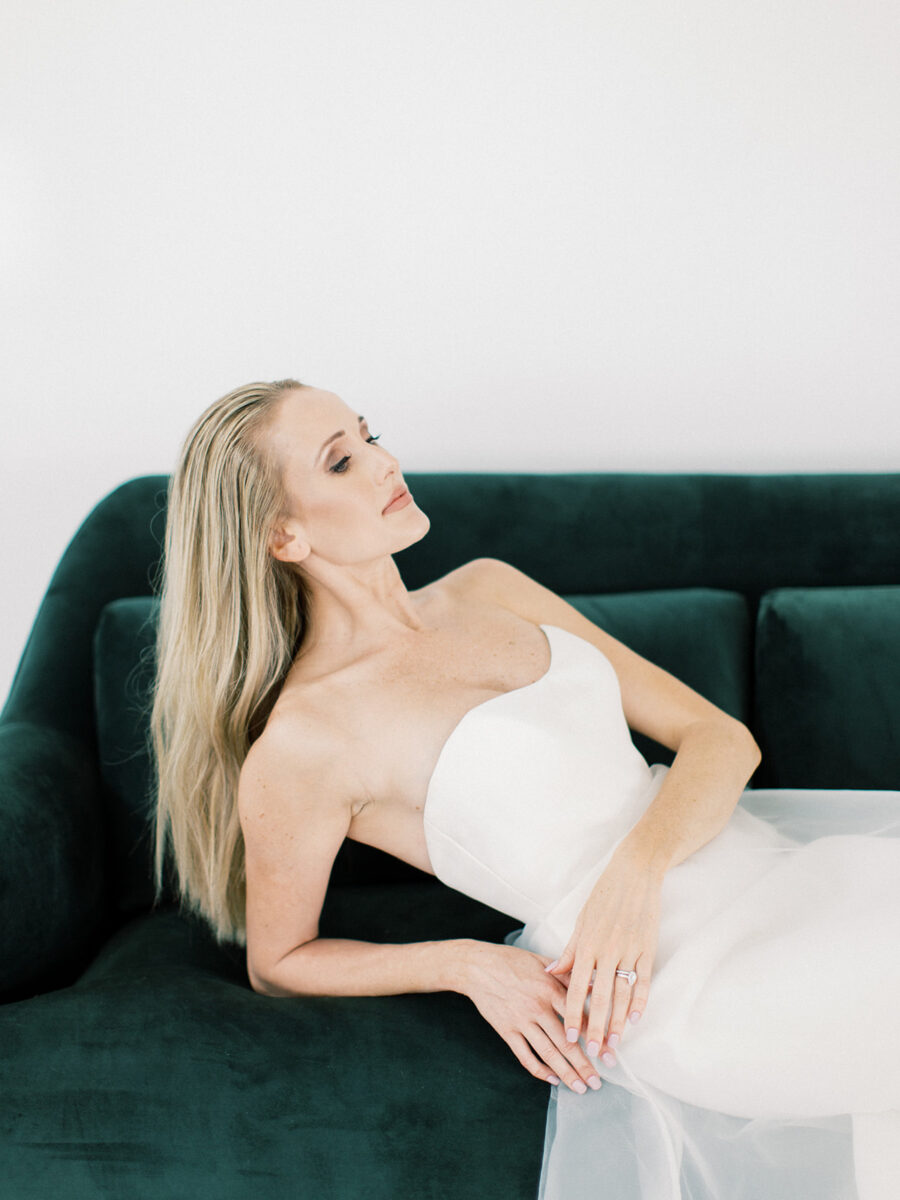Clean & Modern Styled Shoot at 14TENN featured on Nashville Bride Guide