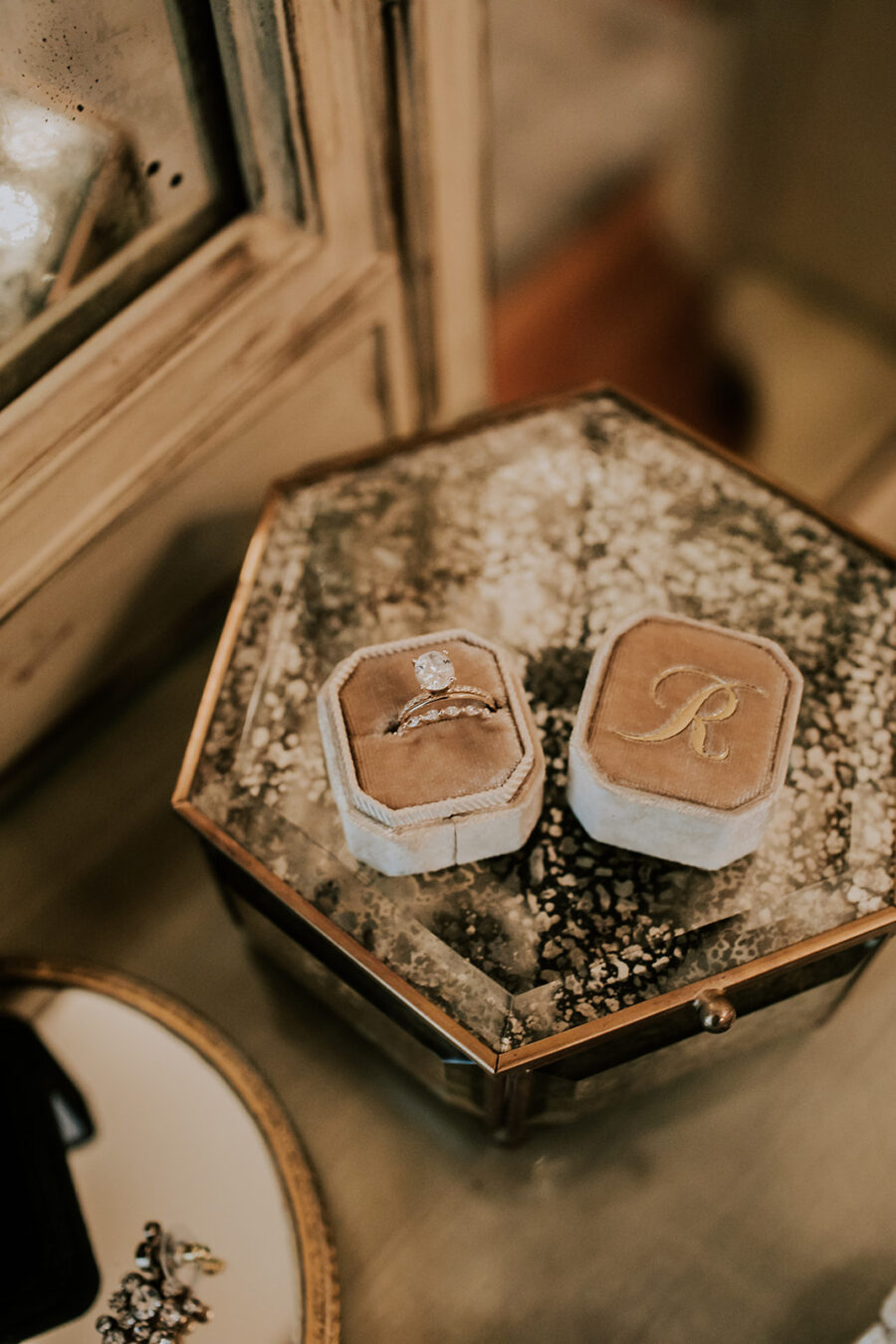Engagement ring box: Summer Soiree at Cedarwood Weddings featured on Nashville Bride Guide