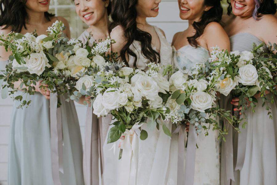 Wedding bouquets: Summer Soiree at Cedarwood Weddings featured on Nashville Bride Guide