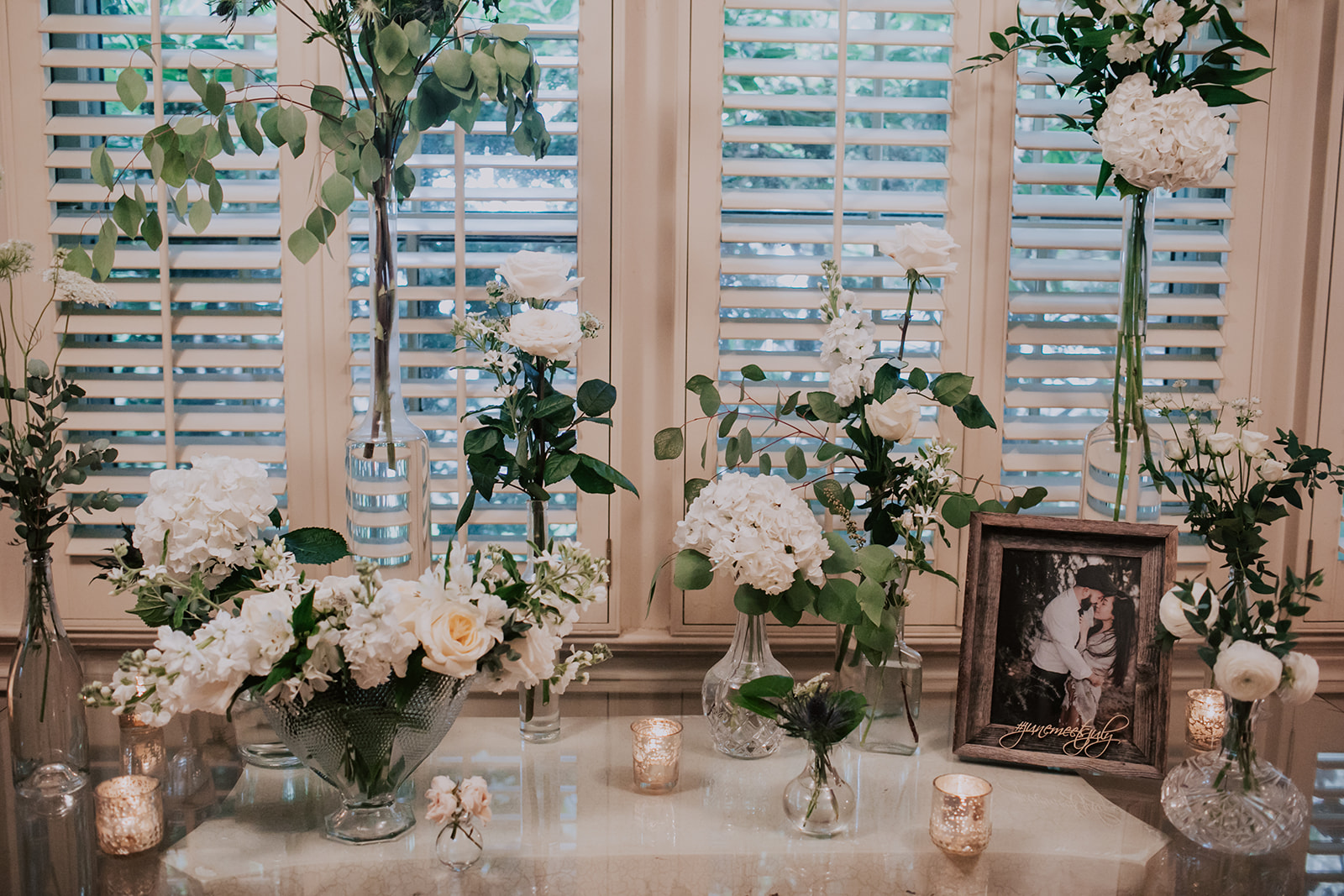Wedding table decor: Summer Soiree at Cedarwood Weddings featured on Nashville Bride Guide