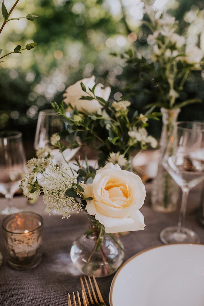 Wedding flowers: Summer Soiree at Cedarwood Weddings featured on Nashville Bride Guide
