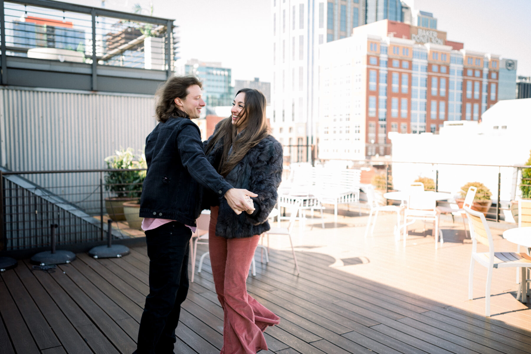 Super Cute Downtown Nashville Photo Session from CMS Photography featured on Nashville Bride Guide
