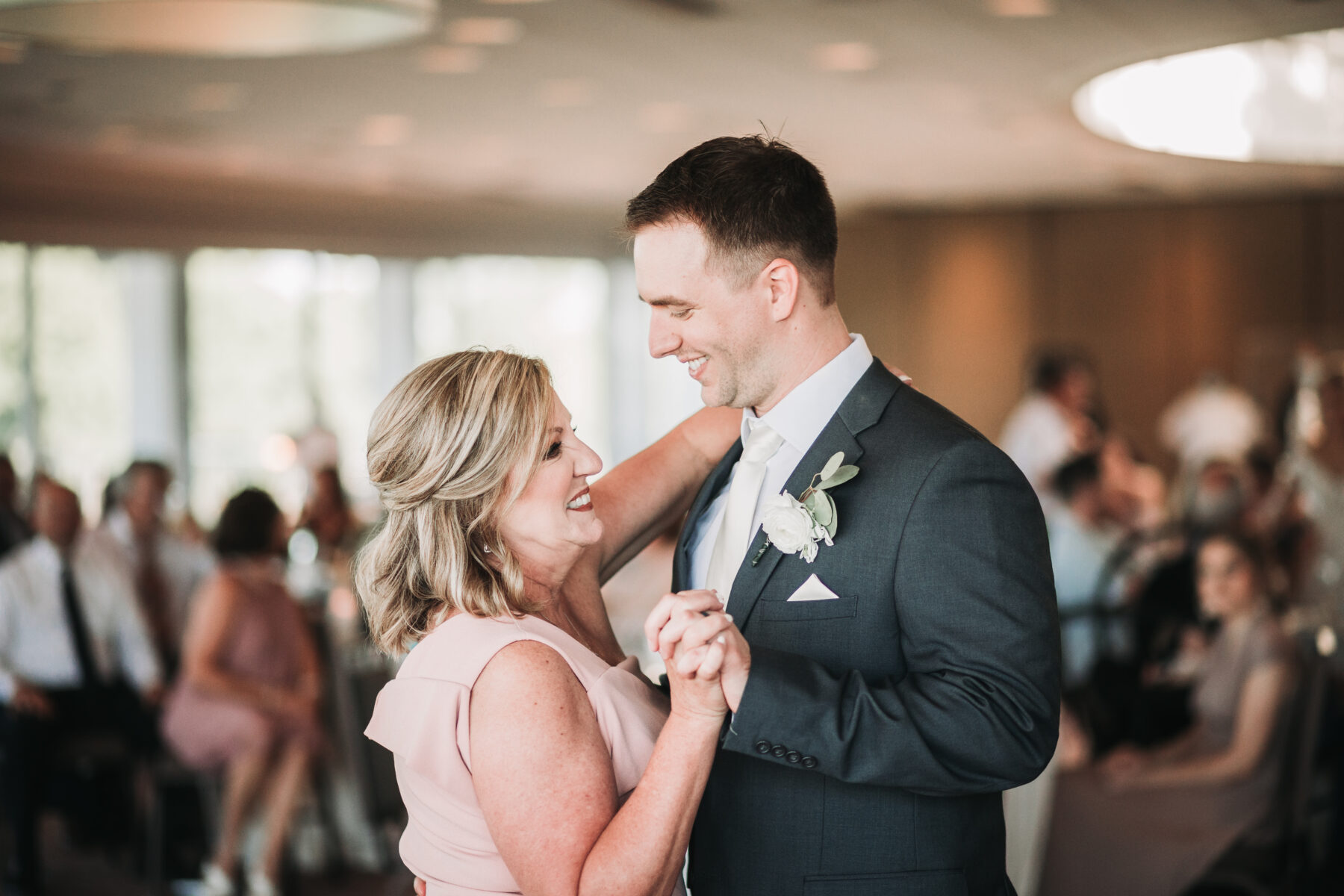 Mother son dance: Romantic Country Club Soiree by Juniper Weddings featured on Nashville Bride Guide