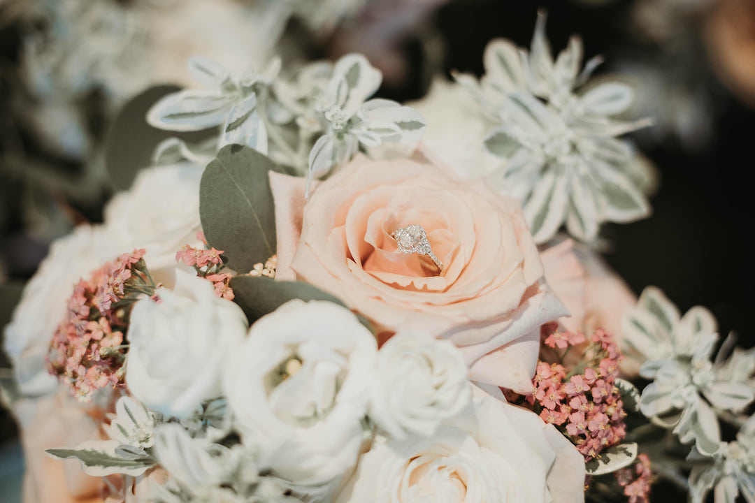 Wedding ring: Romantic Country Club Soiree by Juniper Weddings featured on Nashville Bride Guide