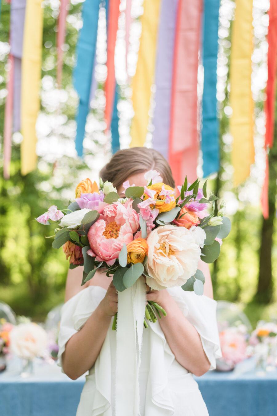 Wedding floral design by LMA Designs
