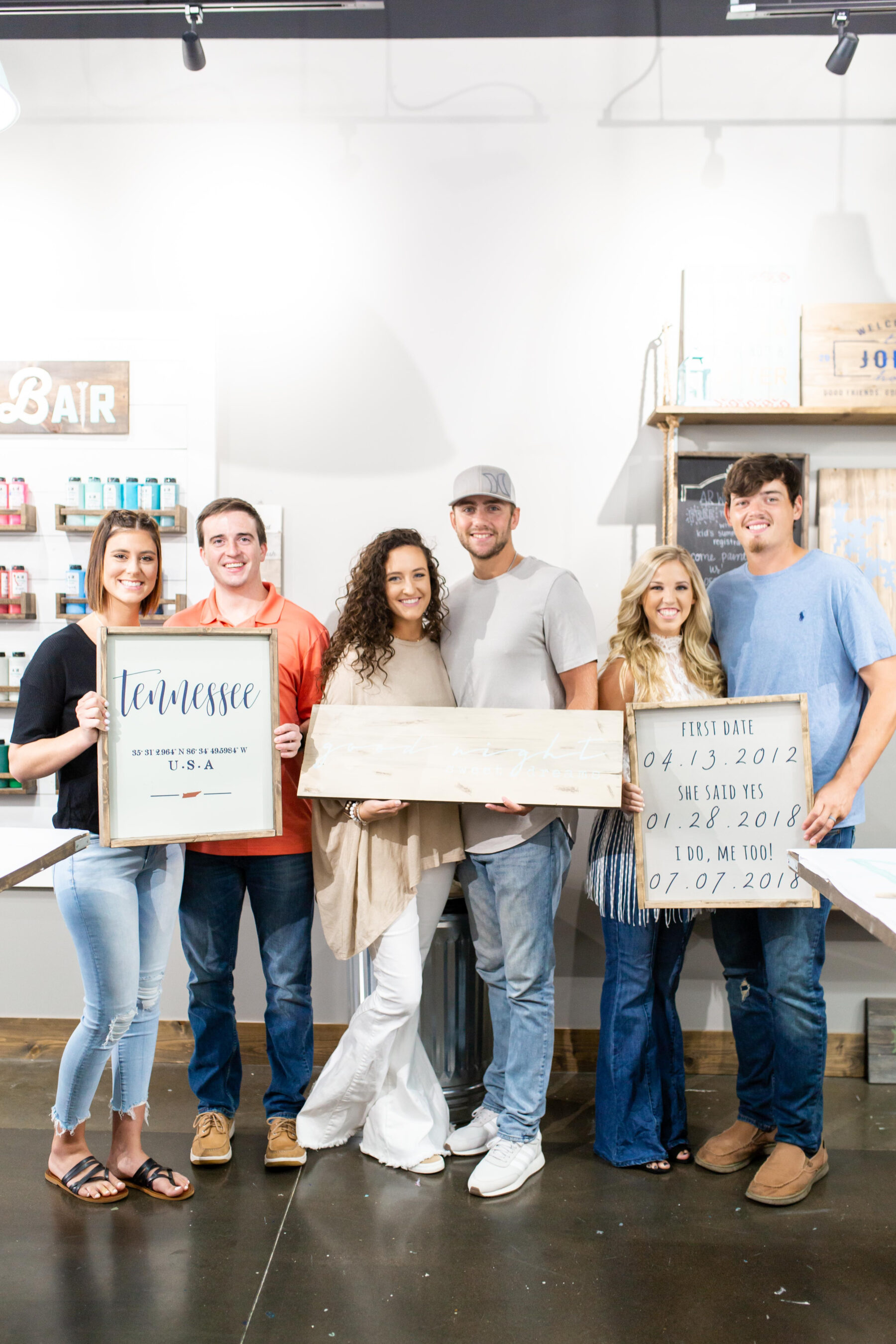 How to Host an Interactive Bridal Shower from AR Workshop Mt. Juliet featured on Nashville Bride Guide