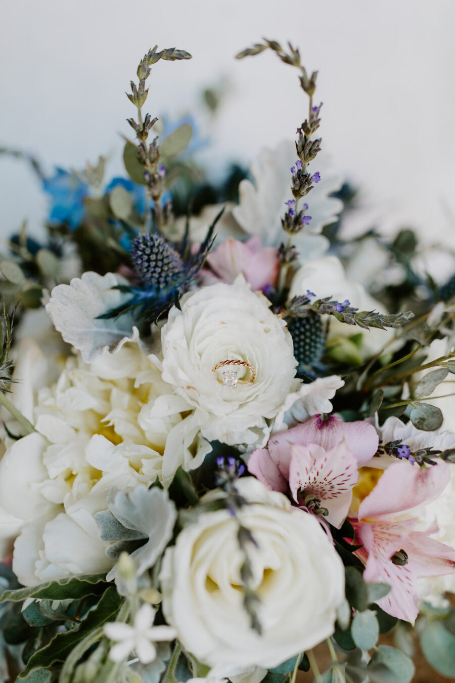 Wedding bouquet flowers: Vibrant Summer Wedding at Sinking Creek Farm featured on Nashville Bride Guide