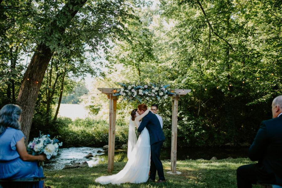 Summer wedding: Vibrant Summer Wedding at Sinking Creek Farm featured on Nashville Bride Guide