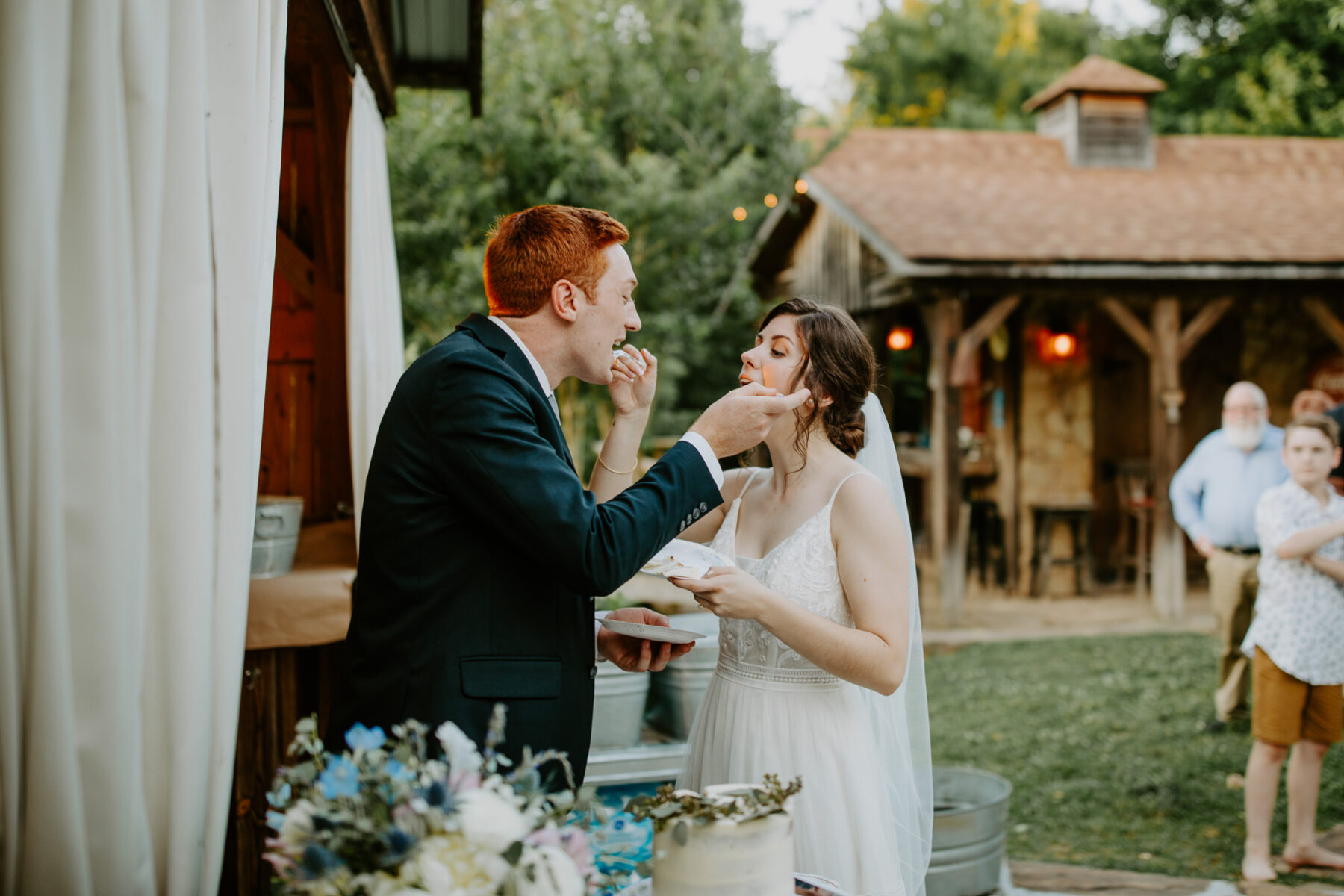 Vibrant Summer Wedding at Sinking Creek Farm featured on Nashville Bride Guide