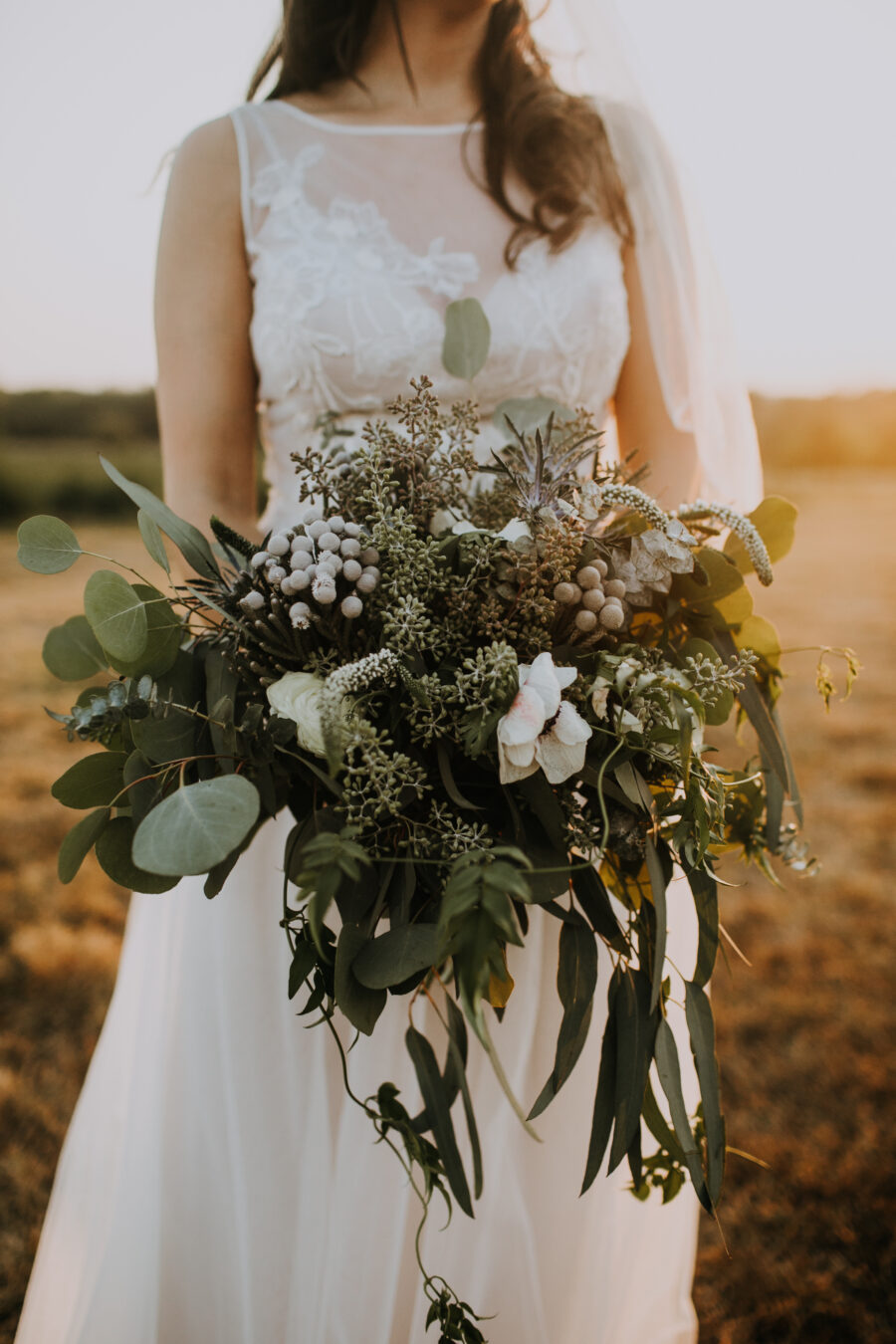 Wedding bouquet: Nashville Wedding with Beautiful Views by Teale Photography featured on Nashville Bride Guide