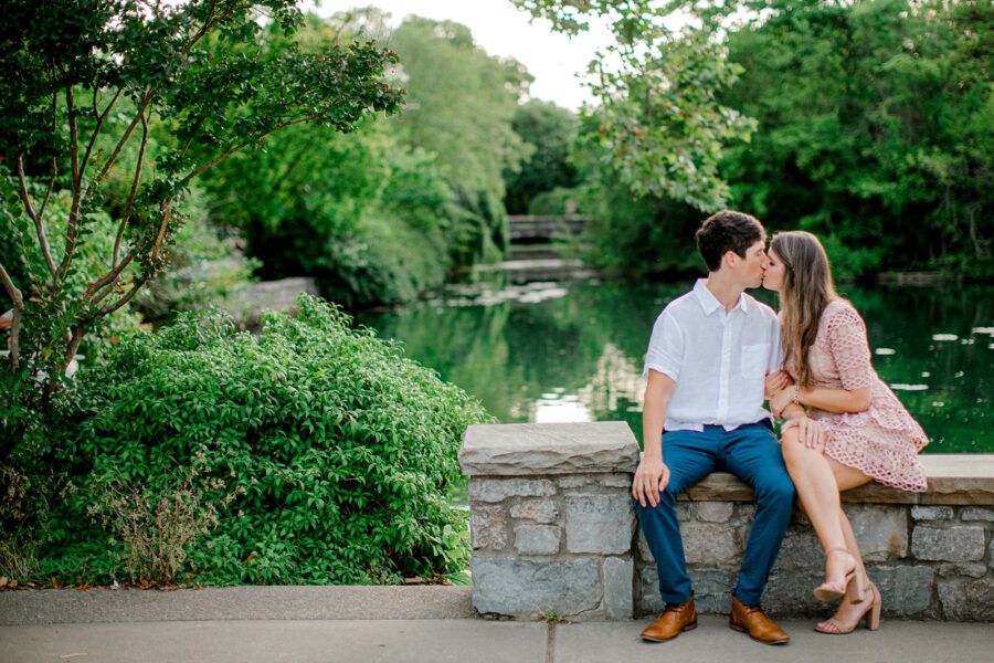 Centennial Park Nashville Engagement Session by Ashton Brooke Photography featured on Nashville Bride Guide