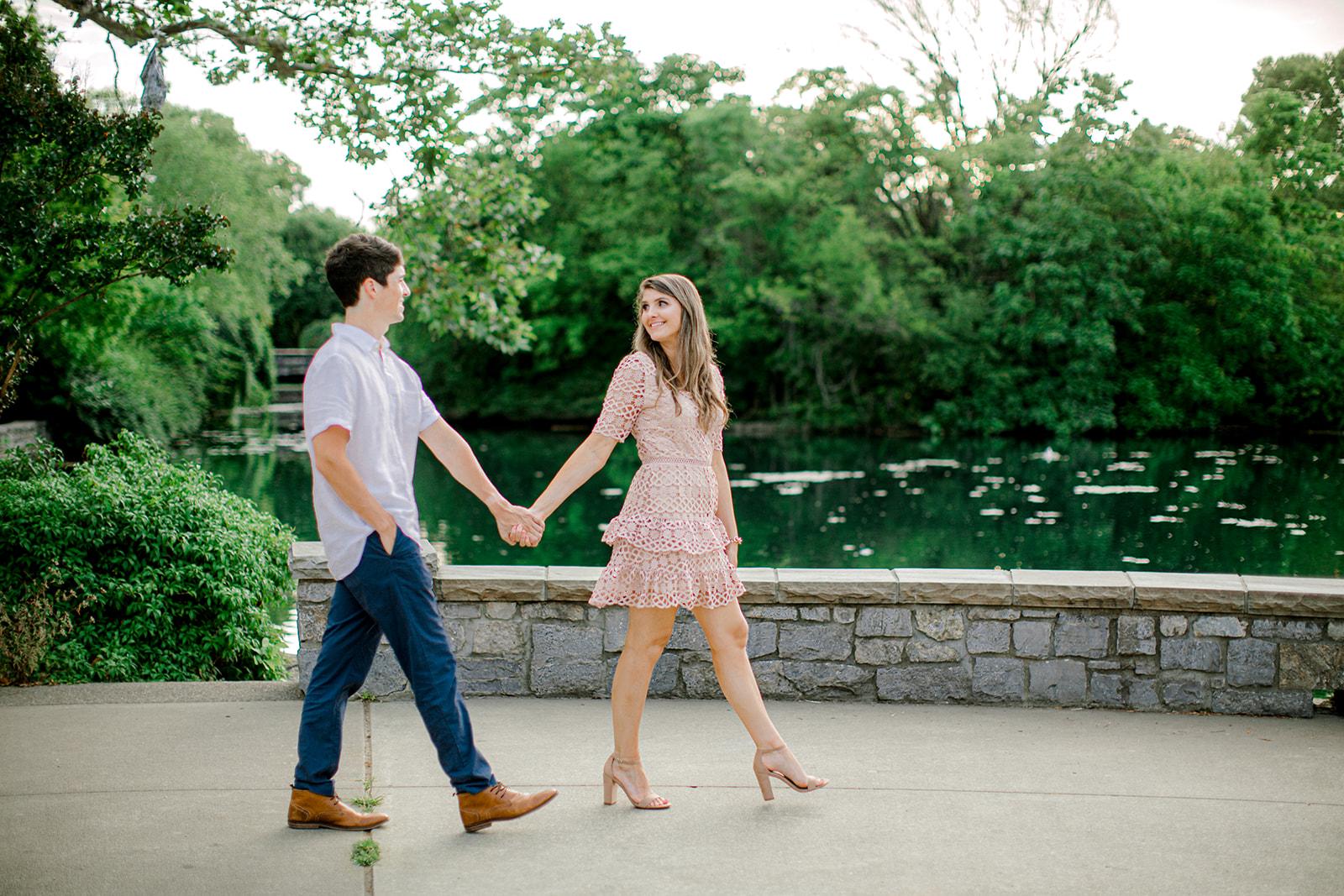 Centennial Park Nashville Engagement Session by Ashton Brooke Photography featured on Nashville Bride Guide