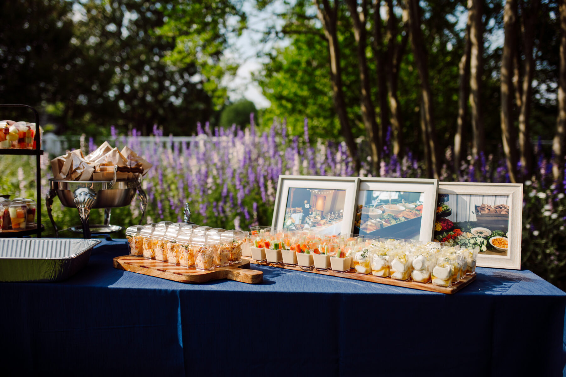 Dessert display: TWESA's new consumer website launch featured on Nashville Bride Guide