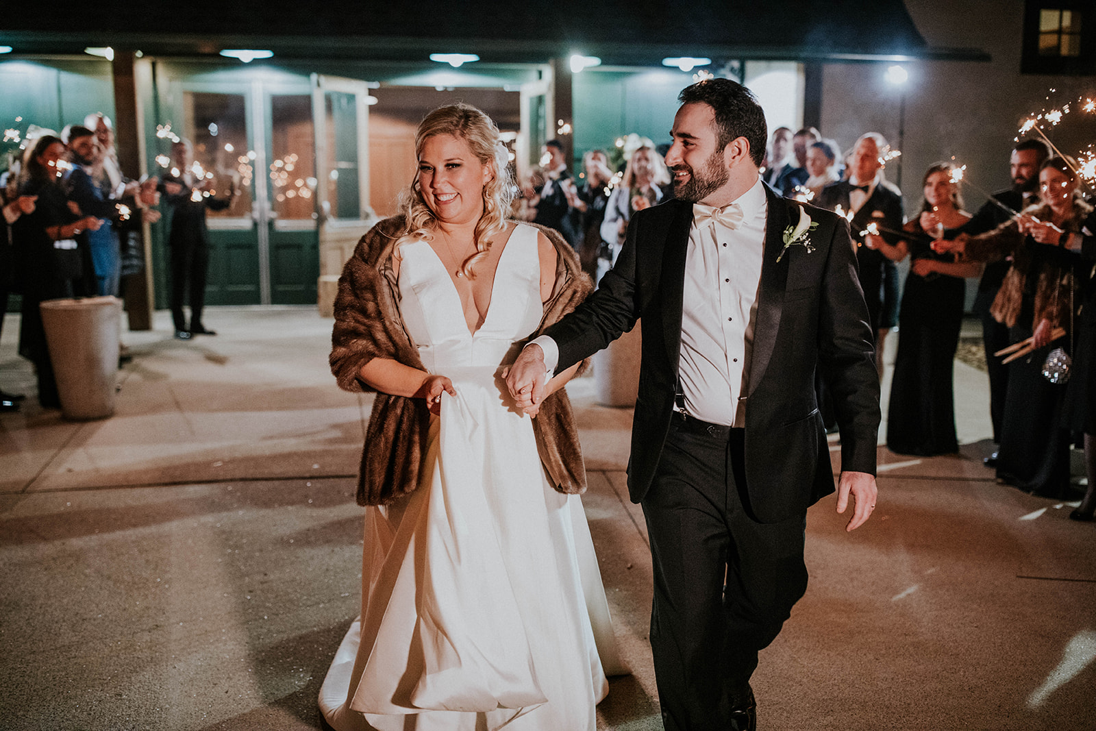 Wedding exit ideas: Timeless Loveless Barn Winter Wedding by Kendall Parsons featured on Nashville Bride Guide