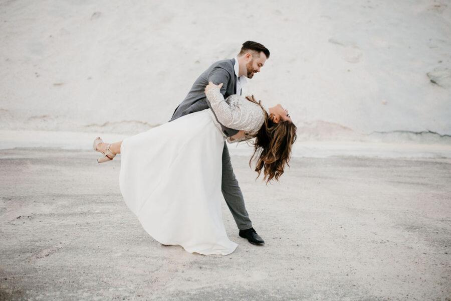 Stylish Nashville Engagement Session by Kelsey Leigh Photography