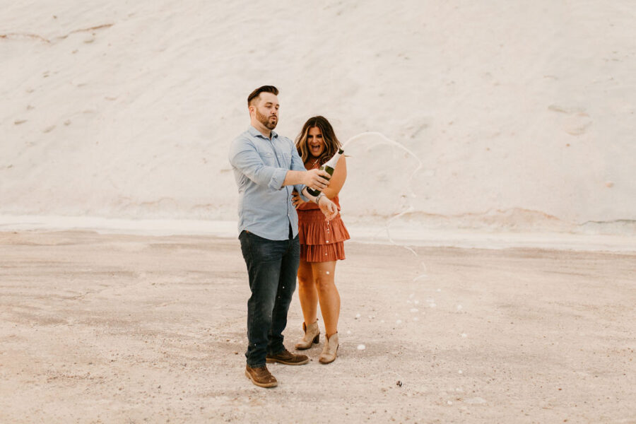 Heart-warming Nashville Engagement Session by Kelsey Leigh Photography